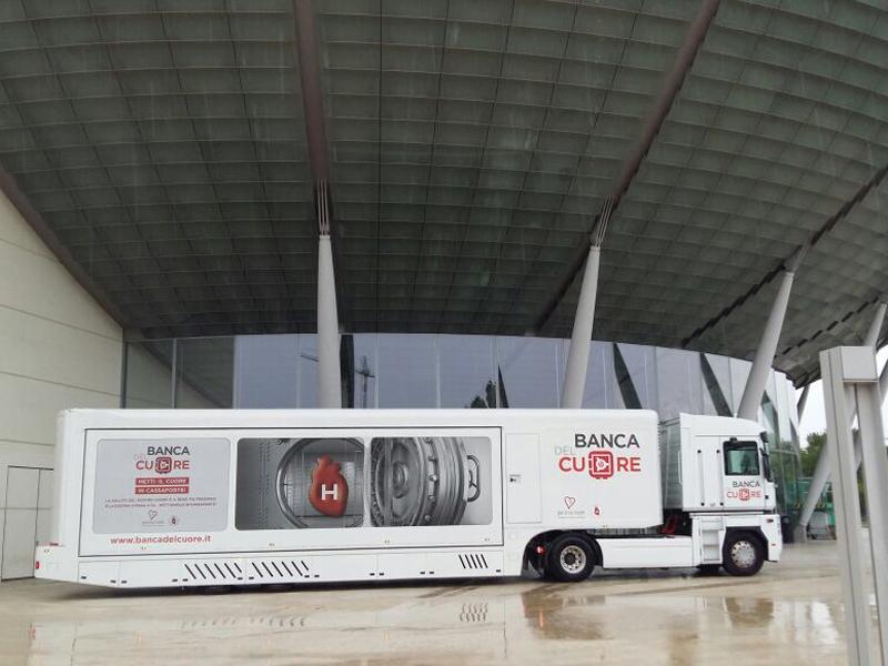Truck Tour Banca del Cuore al Congresso Nazionale a Rimini