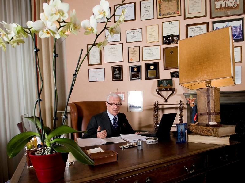 Targa d'Oro  ANMCO al Professor Attilio Maseri