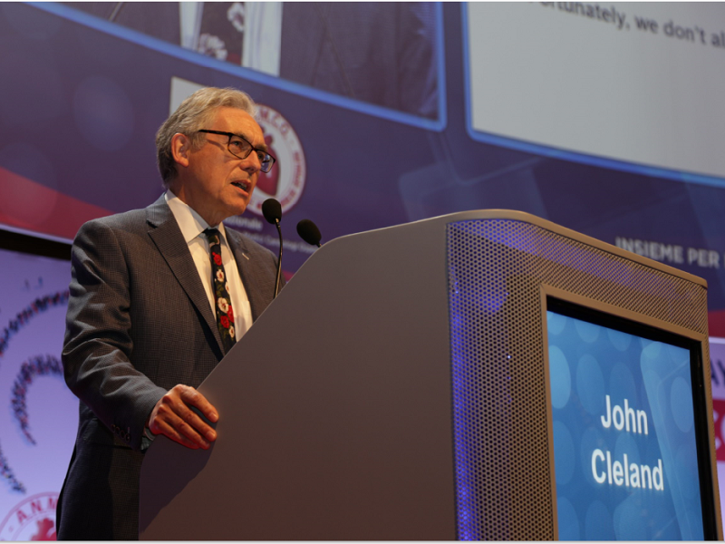 """Lettura Magistrale John Cleland """"Heart Failure today and tomorrow: the european perspective"""""""