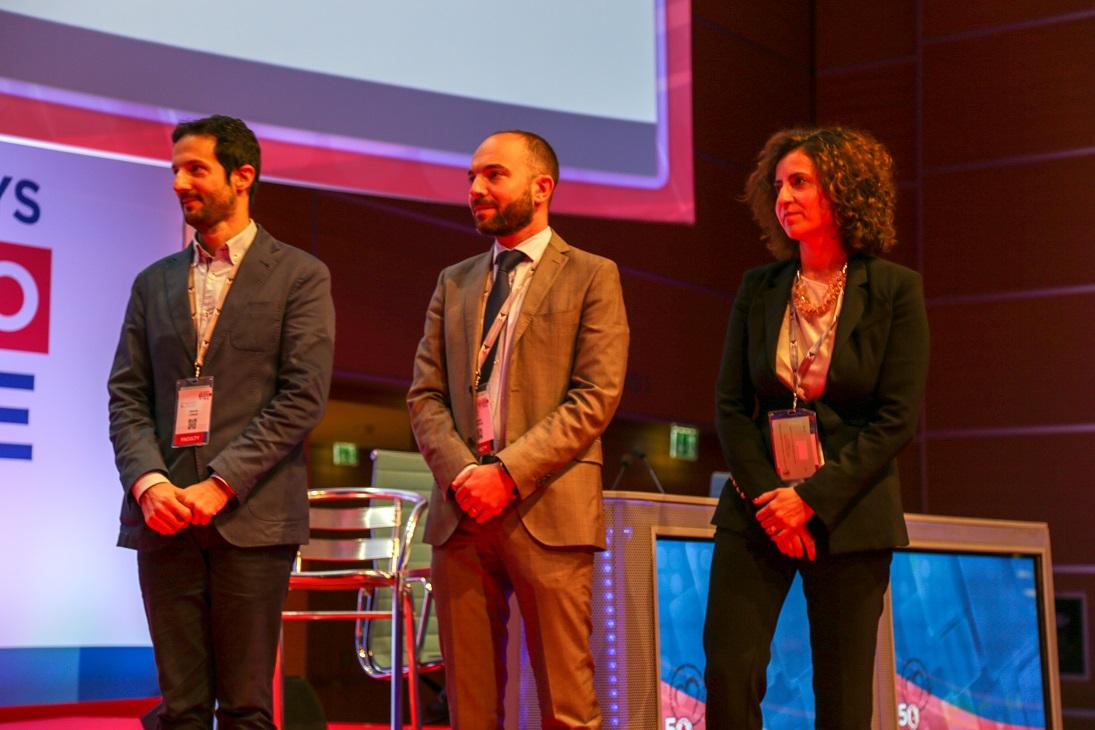 I tre vincitori del Premio Maseri-Florio