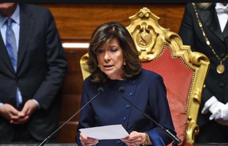 La Presidente del Senato della Repubblica saluta il 51°Congresso ANMCO